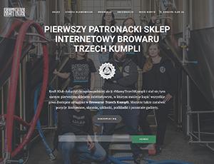 Anteprima dell'articolo - Kraftklub.pl – il nostro primo negozio patrocinato online