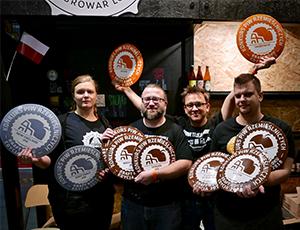 Anteprima dell'articolo - Piwa rzemieślnicze Trzech Kumpli zgarnęły 10 medali w KPR 2018