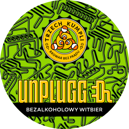 Etykieta - Witbier Unplugged